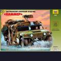 1:35  Zvezda  3562 Американский бронеавтомобиль Hummer