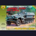 1:35  Zvezda  3572 Немецкий полугусеничный БТР Sd.Kfz.251/1 Hanomag Ausf.B
