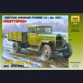 1:35  Zvezda  3574 Советский армейский грузовик ГАЗ-ММ