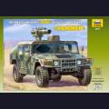 1:35  Zvezda  3575 Американский бронеавтомобиль Hummer с противотанковым ракетным комплексом TOW