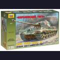 1:35  Zvezda  3601 Немецкий тяжелый танк Sd.Kfz.182 King Tiger с башней Henschel
