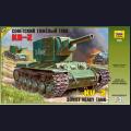 1:35  Zvezda  3608 Советский тяжёлый танк КВ-2