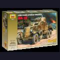 1:35  Zvezda  3617 Советский бронеавтомобиль БА-10