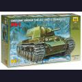 1:35  Zvezda  3624 Советский тяжёлый танк КВ-1 образца 1940г с орудием Л-11