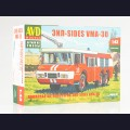 1:43 AVD Models 1361  Пожарный автомобиль ЗиЛ-SIDES VMA-30