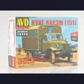 1:43 AVD Models 1371 Войсковая Автомобильная Ремонтно-Эксплуатационная Мастерская ВАРЭМ КУНГ (151)