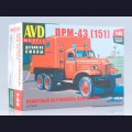 1:43 AVD Models 1377  Пожарный автомобиль ПРМ-43 (151)