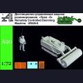 1:72 Alexminiatures A90 Дистанционная машина разминирования