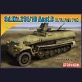 1:72  Dragon  7314 Немецкий полугусеничный БТР Sd.Kfz.251/10 Hanomag Ausf.C с орудием 3.7cm Pak.35/36