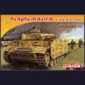 1:72  Dragon  7407 Немецкий средний танк Pz.Kpfw.III Ausf.N с бортовыми экранами