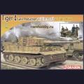 1:72  Dragon  7440 Немецкий тяжелый танк Pz.Kpfw.VI Tiger Ausf.E, поздняя версия в циммерите + немецкий танковый экипаж