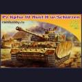 1:72  Dragon  7497 Немецкий средний танк Pz.Kpfw.IV Ausf.H с бортовыми экранами