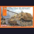1:72 Dragon 7515 Немецкая противотанковая самоходная артиллерийская установка Sd.Kfz.184 Elefant