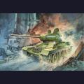 1:72 Dragon 7556 Советский средний танк Т-34/85 образца 1944г