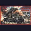 1:72  ICM  72574 Советская реактивная система залпового огня БМ-13-16