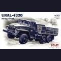 1:72  ICM  72611 Советский армейский грузовик Урал-4320