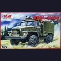 1:72  ICM  72612 Советский армейский грузовик Урал 4320 подвижный командный пункт