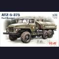 1:72  ICM  72713 Советский армейский автотопливозаправщик АТЗ-5-375