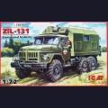1:72  ICM  72812 Советский армейский грузовик ЗиЛ-131 подвижный командный пункт