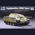 1:72  Trumpeter  07241 Немецкая противотанковая самоходная артиллерийская установка Sd.Kfz.173 Jagdpanther, средних выпусков