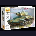 1:72  Zvezda  5001 Советский средний танк Т-34/76 образца 1943г