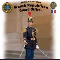 1:16  ICM  16004 Офицер Республиканской гвардии Франции