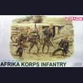 1:35  Dragon  6138 Немецкая пехота, Африканский корпус