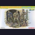 1:35  Dragon  6409 Немецкие парашютисты, Monte Cassino 1944г