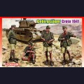 1:35  Dragon  6742 Немецкие горные стрелки, Крит 1941г