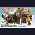 1:35  Dragon  6744 Советская пехота, зима 1941г