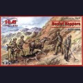 1:35  ICM  35031 Советские саперы, 1979-1988г советско-афганская война
