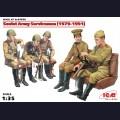 1:35  ICM  35636 Советские военнослужащие, 1979-1991г