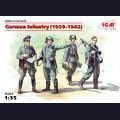 1:35  ICM  35639 Немецкая пехота, 1939-1942г