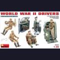 1:35 MiniArt 35042 Водители Второй Мировой войны
