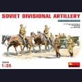 1:35 MiniArt 35045 Советская дивизионная артиллерия