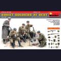 1:35 MiniArt 35109 Советские солдаты на отдыхе