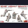 1:35 MiniArt 35226 Советская штурмовая группа в зимних маскхалатах