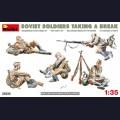 1:35 MiniArt 35233 Советские солдаты на отдыхе