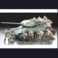 1:35  Tamiya  35207 Советский танковый десант