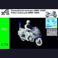 1:72 Alexminiatures A91 Полицейский мотоцикл BMW 1200R