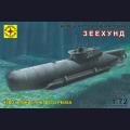 1:72  Modelist  107265 Немецкая сверхмалая подводная лодка U-Boat Type XXVIIB Seehund