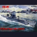 1:144  ICM  S.010 Немецкая подводная лодка U-Boat Type IIB