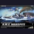 1:350  Academy  14105 Английский линкор Warspite