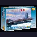 1:350 Zvezda 9035 Советская атомная подводная лодка К-3