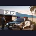 1:25  Revell  07068 Chevy Impala Police Car, 2005г