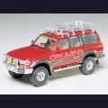 1:24  Tamiya  24122 Toyota Land Cruiser 80 с внедорожным обвесом