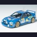 1:24  Tamiya  24199 Subaru Impreza WRC Ралли Монте-Карло 1998г