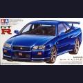 1:24  Tamiya  24210 Nissan Skyline GT-R V-spec (R34)