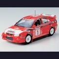 1:24  Tamiya  24220 Mitsubishi Lancer Evolution VI WRC
