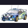 1:24  Tamiya  24250 Subaru Impreza WRC Ралли Великобритании 2001г